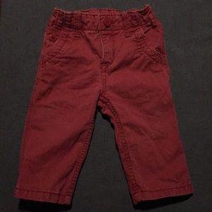 Baby Gap Red Trouser Pants